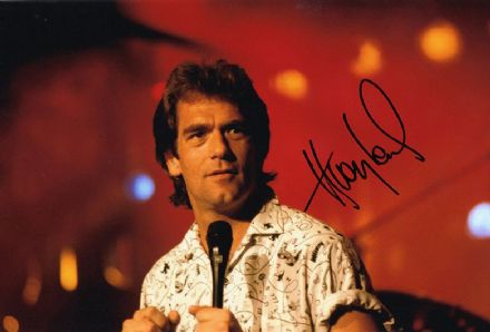 Huey Lewis, American singer songwriter, signed 12x8 inch photo.